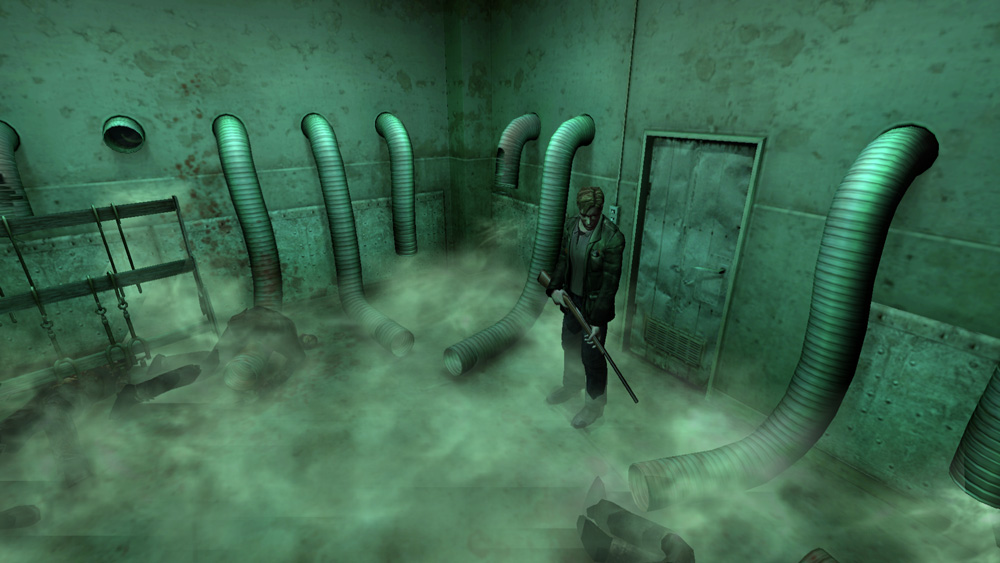 Comparison of Silent Hill 2: Enhanced Edition and PCSX2